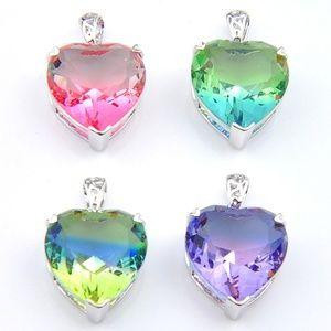 Rainbow MysticTopaz Pendant Set of 4